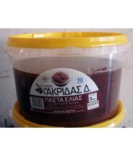 Πάστα Μαύρης Ελιάς 3kg